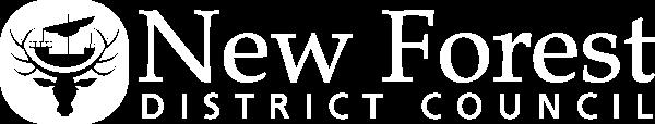 New Forest DC Logo - White